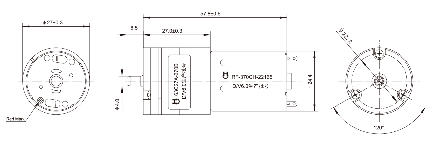 DC-Motor_63C27A_Outline-drawing